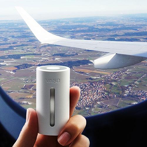 Tag VAGO med i flyet, ingen batteri