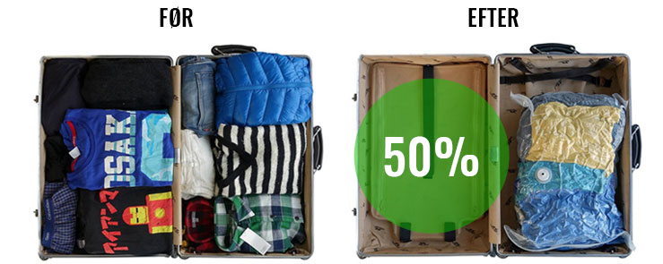 VAGO før- og efter komprimering - spar 50%